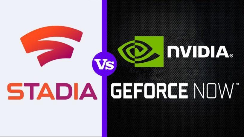 Resultado de imagen de nvidia geforce now vs google stadia
